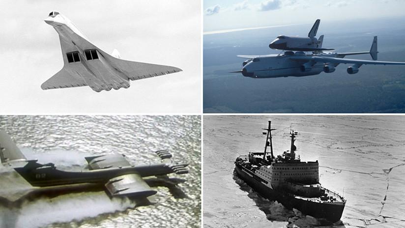 Desde el Burán hasta 'el monstruo del mar Caspio': Los 5 proyectos épicos de la URSS
