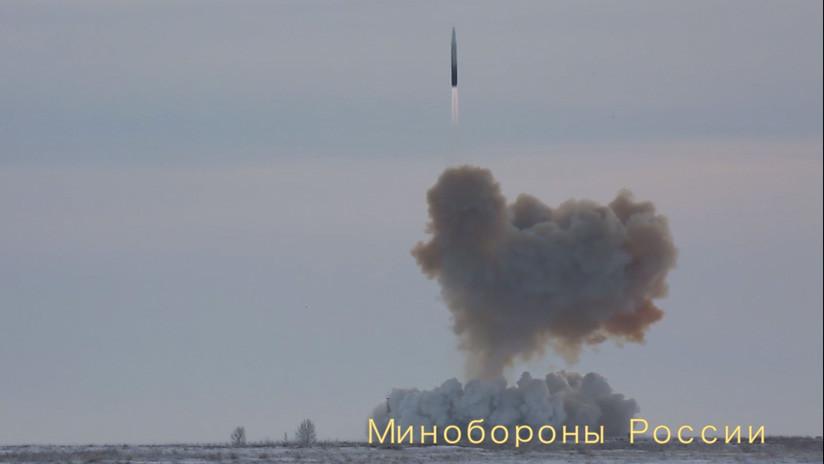 El misil hipersónico ruso Avangard alcanzó durante sus pruebas una velocidad 'inalcanzable'