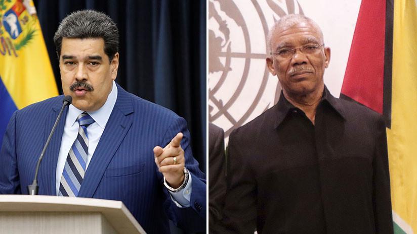 """Venezuela aprueba decreto para afianzar """"seguridad jurídica"""" en la fachada atlántica con Guyana"""