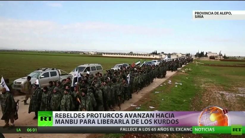 Siria: La ciudad de Manbij está en el foco de atención