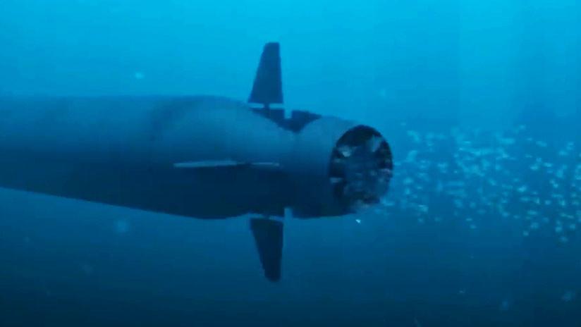 """El dron submarino ruso """"del Juicio Final"""" que teme Occidente"""