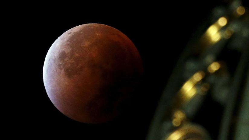 Anuncian espectáculo celeste: eclipse total de superluna de sangre