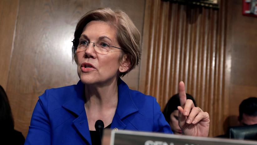 La senadora Elizabeth Warren busca postularse a las presidenciales del 2020 en EE.UU.