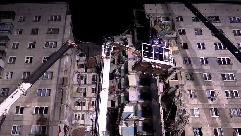 Daniel Ortega ofrece sus condolencias por las víctimas del derrumbe de un edificio en Magnitogorsk