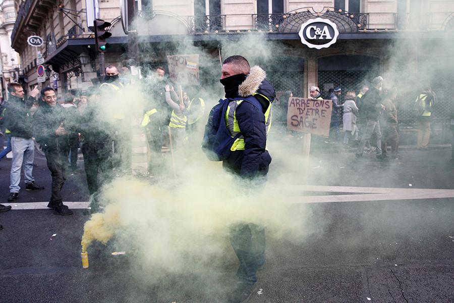 Com'è andata la protesta di ieri dei gilet gialli
