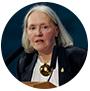 Saskia Sassen, académica de la universidad de Columbia.
