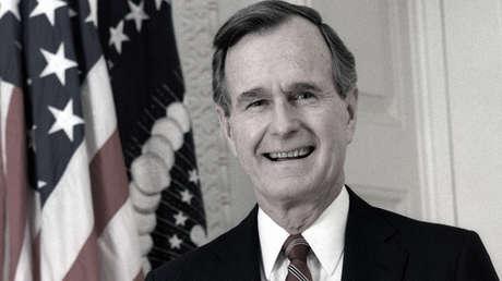 George Herbert Walker Bush, el 41.º presidente de EE.UU.