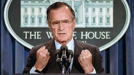 George H. W. Bush, el 41.º presidente de EE.UU.