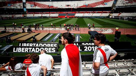 Estadio Antonio Vespucio Liberti, Buenos Aires, Argentina - 25 de noviembre de 2018.