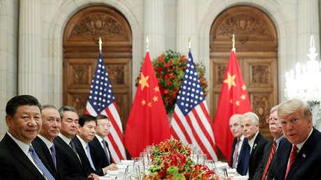 El presidente de EE.UU., Donald Trump, y su par chino Xi Jinping, en Argentina, 1 de diciembre de 2018.