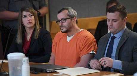 Christopher Watts en el tribunal del condado de Weld en Greeley (Colorado, EE.UU.), el 19 de noviembre de 2018.