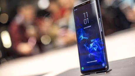Un Samsung Galaxy S9.