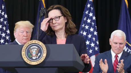La directora de la CIA, Gina Haspel.
