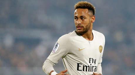 El jugador brasileño Neymar Jr., durante un partido en Burdeos, Francia. 2 de diciembre de 2018.