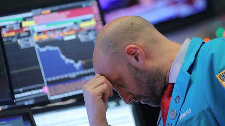 Un corredor de bolsa en la Bolsa de Nueva York (NYSE), el 4 de diciembre de 2018.
