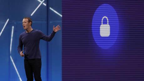 El CEO de Facebook, Mark Zuckerberg durante la conferencia anual de desarrolladores F8 en San José, (California, EE.UU.), 1 de mayo de 2018.
