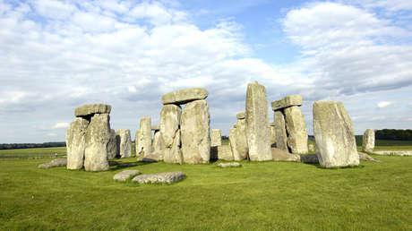 Panorámica de Stonehenge en Reino Unido.