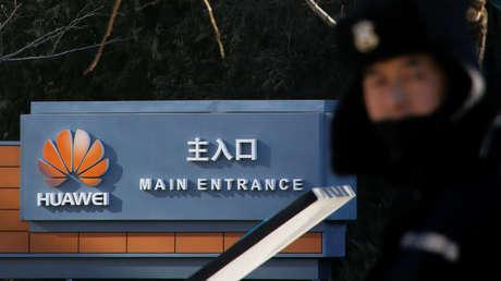 El complejo de oficinas de Huawei en Pekín, China.