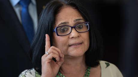 La futura ministra de la Mujer, Familia y Derechos Humanos,  Damares Alves. 6 de diciembre de 2018 en Brasilia.