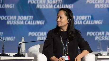 La directora financiera de Huawei, Meng Wanzhou.