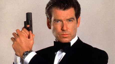 Pierce Brosnan como James Bond, en 1999.
