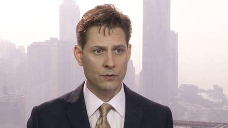 Michael Kovrig durante una entrevista en Hong Kong, el 28 de marzo de 2018.