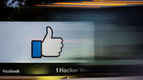 Entrada de la sede de Facebook en Menlo Park, California (EE.UU.), el 10 de octubre de 2018.