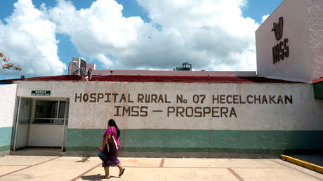 Hospital rural del IMSS, Campeche, México, 18 de agosto de 2017.