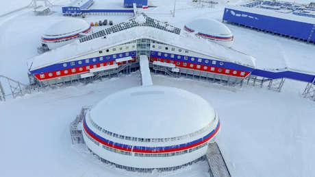 Una base militar rusa en la isla de Tierra de Alexandra.