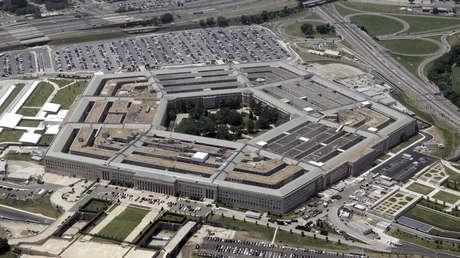 Imagen aérea del Pentágono, la sede principal del Departamento de Defensa de EE.UU.