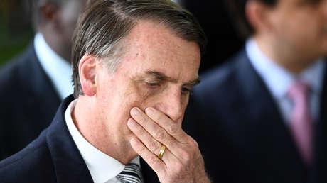 El presidente electo, Jair Bolsonaro, en Brasilia. 4 de diciembre de 2018.