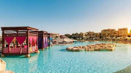 Resort en Sharm el-Sheij (Egipto), el 22 de abril de 2016.