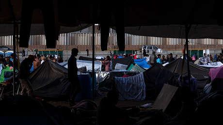 Migrantes centroamericanos en un refugio temporal en Tijuana, México, el 28 de noviembre de 2018.
