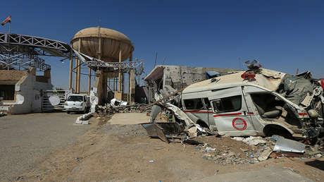 Hospital destrozado en Mosul (Irak), el 10 de julio de 2018.