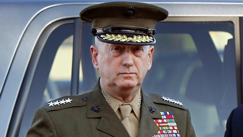 """""""Manténganse firmes"""": Mattis envía un mensaje de despedida a los empleados del Pentágono"""