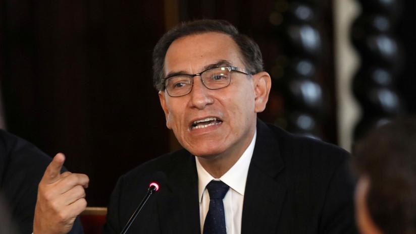 El presidente Vizcarra dice que Odebrecht no debería trabajar más en Perú