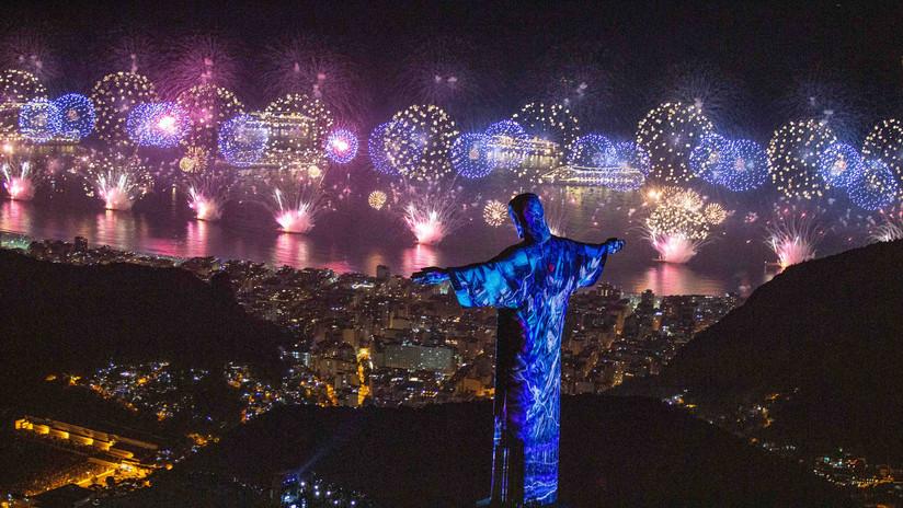Los fuegos artificiales más espectaculares del Año Nuevo desde varios rincones del planeta