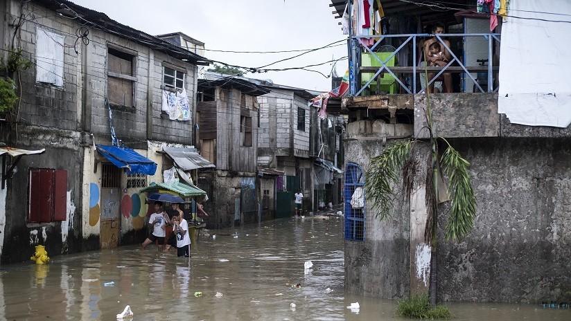 FOTOS, VIDEOS: La tormenta Usman deja decenas de muertos y desaparecidos en Filipinas