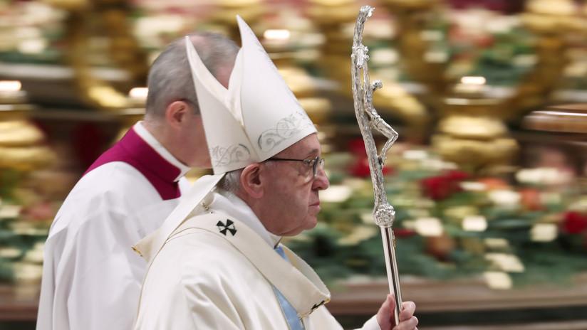 VIDEO: El papa Francisco celebra la primera misa del año
