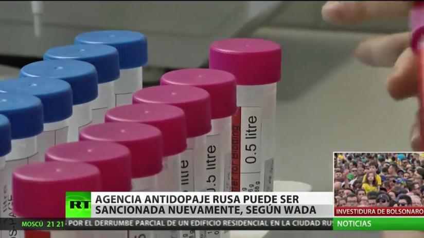 La WADA: La agencia antidopaje rusa podría ser sancionada nuevamente