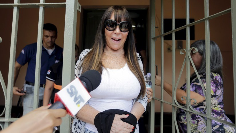 Detienen temporalmente a la actriz argentina Moria Casán en Uruguay