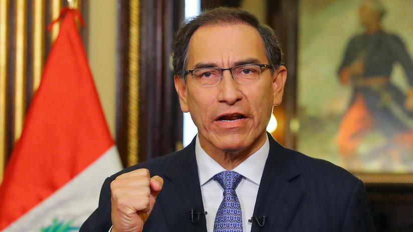 El presidente de Perú insta al Congreso a declarar en emergencia al Ministerio Público