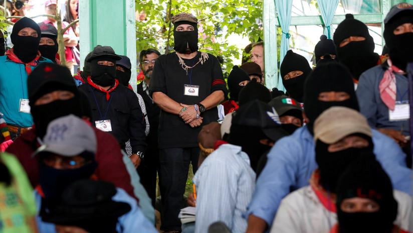 """""""No lo vamos a permitir"""": El Ejército Zapatista se opone al proyecto del Tren Maya de López Obrador"""