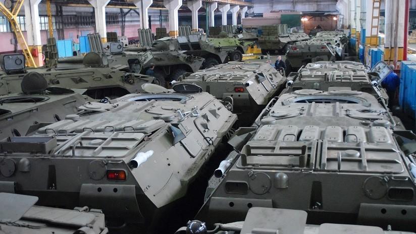 Publican la primera imagen del nuevo complejo de artillería ruso creado con un concepto innovador