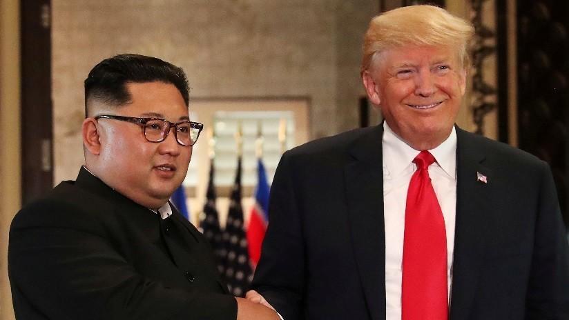 """Trump recibe una carta """"formidable"""" de Kim y afirma que se reunirá con él en el futuro próximo"""