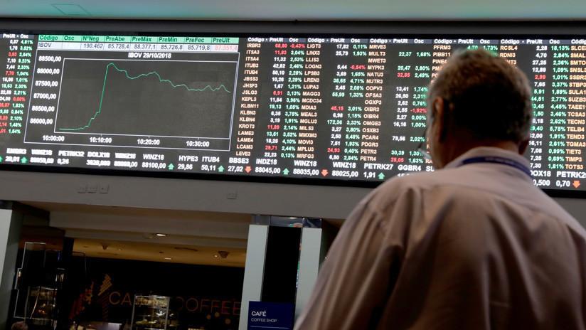 Bolsa de Sao Paulo cierra en alza histórica en primera jornada de 2019 tras asunción de Bolsonaro