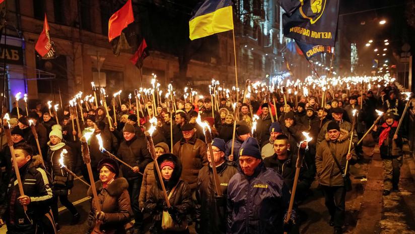 Ucrania conmemora el nacimiento de un colaborador del nazismo