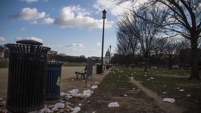 FOTOS: Lugares públicos en EE.UU. se hunden en la basura debido al cierre del Gobierno