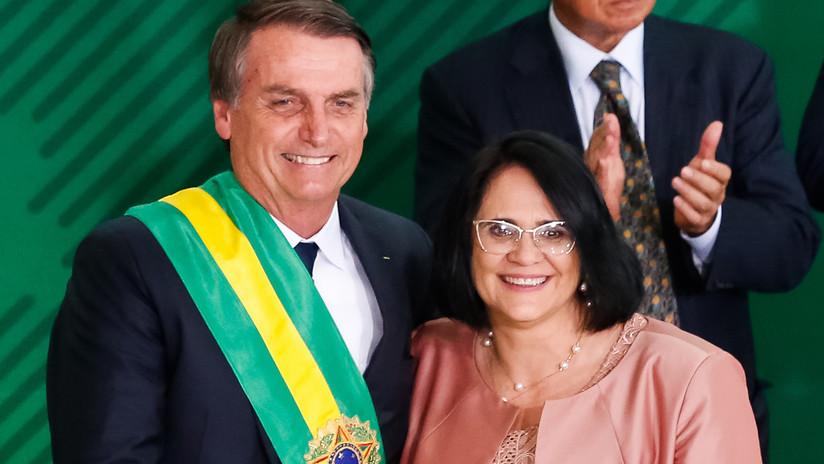 """""""El niño viste de azul y la niña de rosa"""": El polémico video de la ministra de la Mujer de Brasil"""