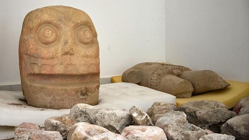 Descubren en México el primer templo del 'dios desollado', cuyos sacerdotes vestían pieles humanas